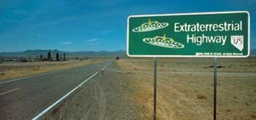 ET Highway Straßenschild (photo: Travel Nevada)