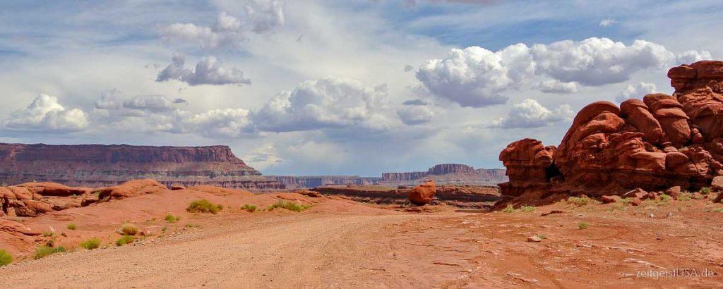 Potash Road, Highway 279 -- nördlich von Moab, Utah