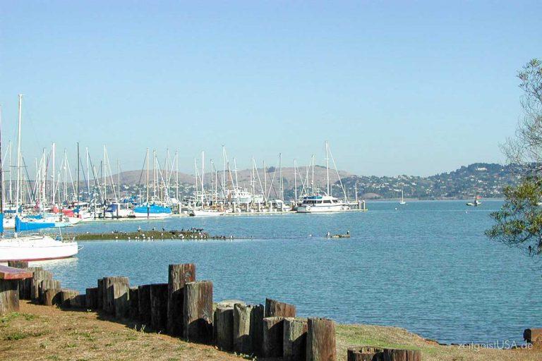 Sausalito, Kalifornien — der Künstlerort gegenüber von San Francisco