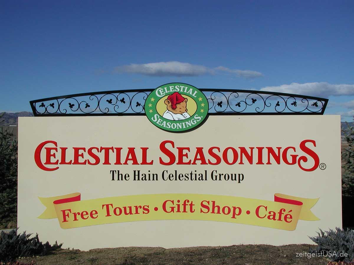 Celestial Seasoning Tee, Boulder, Colorado