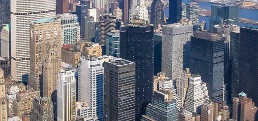 New York City von oben