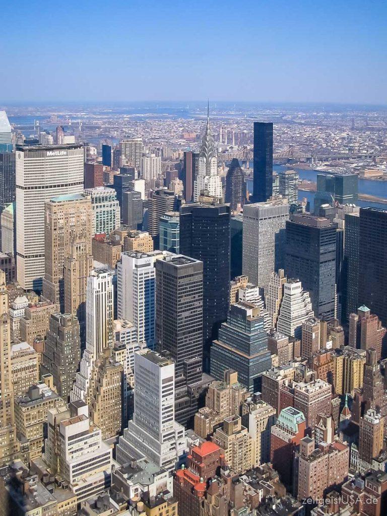 New York City — Reisetipps, Sehenswürdigkeiten — alles was man als Besucher wissen sollte
