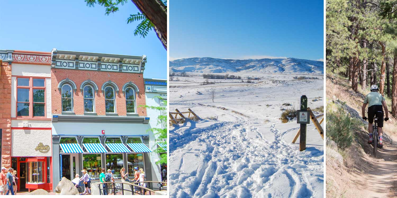 Boulder, Colorado -- eine der besten Cities zum Leben in den USA (wenn man Sport, gesundes Leben, Berge, Sonne, Micro Breweries und Kleinstadt Flair mag)