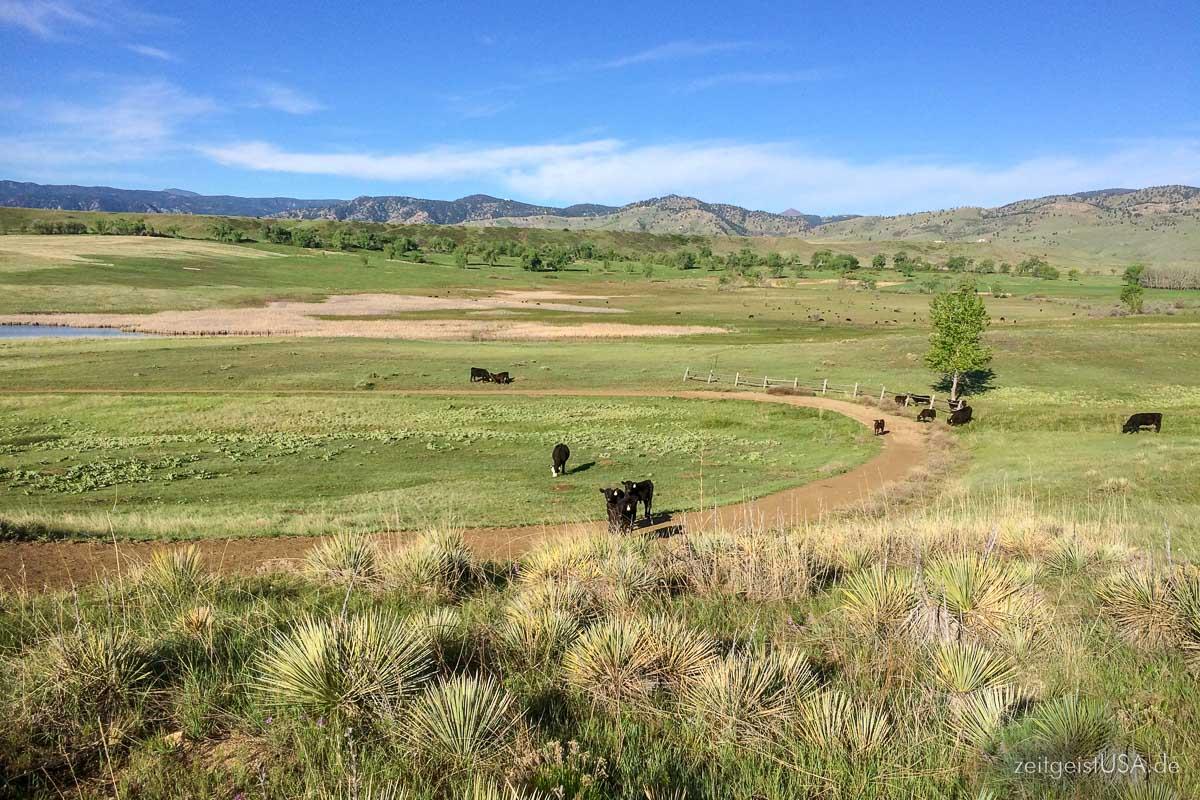 Boulder, Colorado, hat eine Menge Nature zu bieten