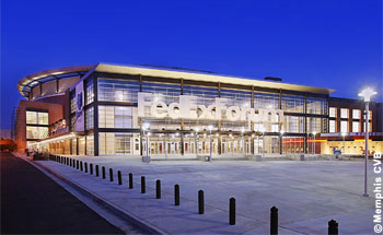 Fedex Forum in Memphis (photo: Memphis CVB)