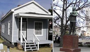 W C Handy House in Memphis (Memphis CVB; NPS)