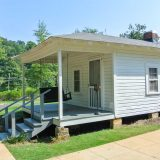 Elvis Geburtshaus in Tupelo, Mississippi