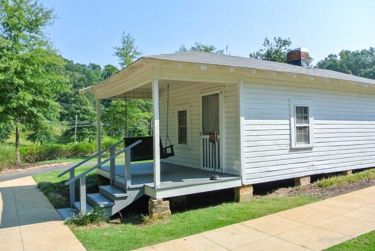 Elvis' Geburtsstätte / Museum in Tupelo, Mississippi