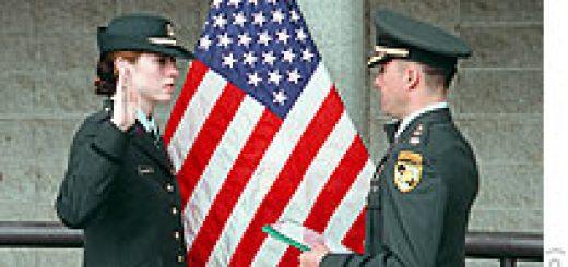 West Point -- 2nd Lieutenant Vereidigung
