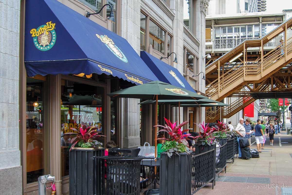 In Großstädten gibt es reichlich Auswahl and modernen Frühstücksplätzen