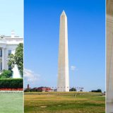 Washington DC (Bild: White House, Washington Memorial, Jefferson Memorial)