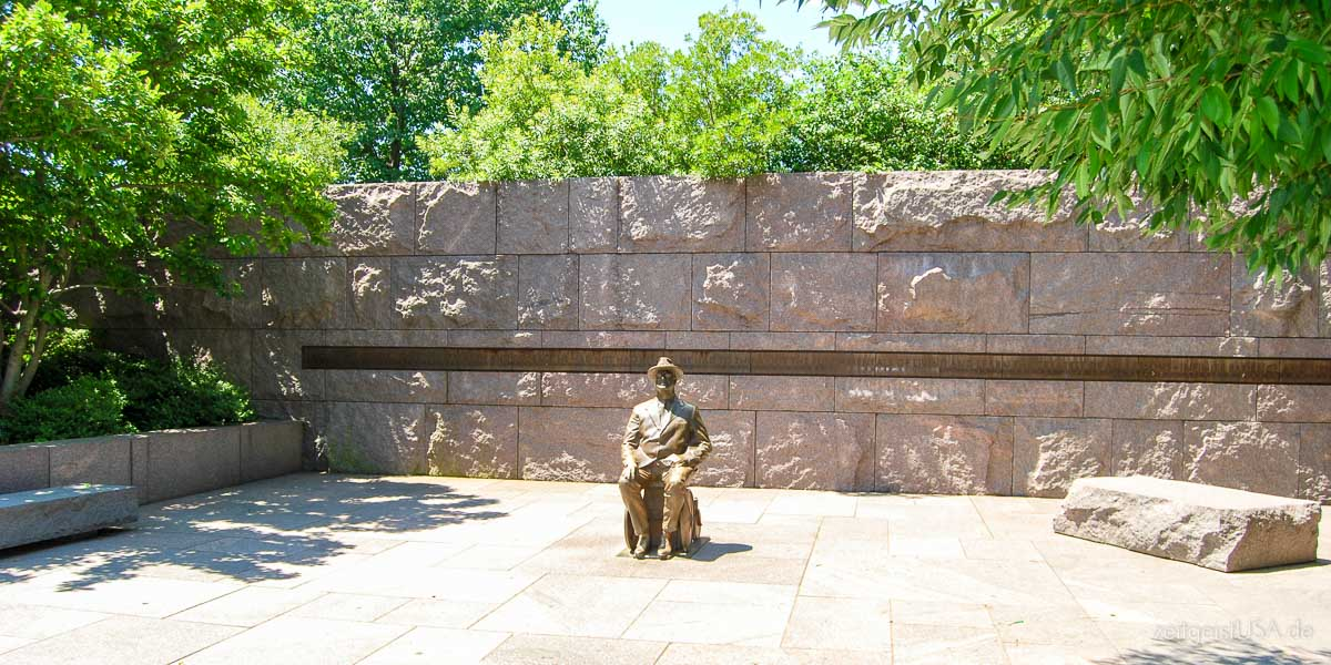 Franklin Delano Roosevelt Memorial, Washington DC