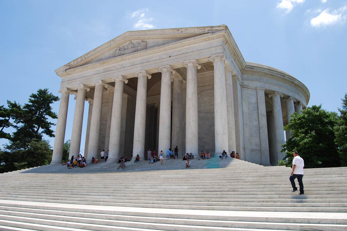 Jefferson Memorial, Washington DC (photo: zeitgeistUSA.de)