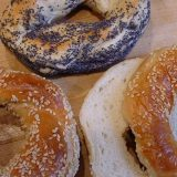 Bagels (photo: Garyperlman at English Wikipedia [Public domain], via Wikimedia Commons)