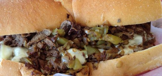 Philly Cheesesteak (photo: phil-denton,CC BY-SA 2.0 license,https://creativecommons.org/licenses/by-sa/2.0/)