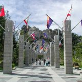 Avenue of the Flags, Mt. Rushmore, South Dakota