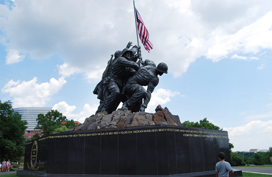 Marine Corps Memorial, Washington DC