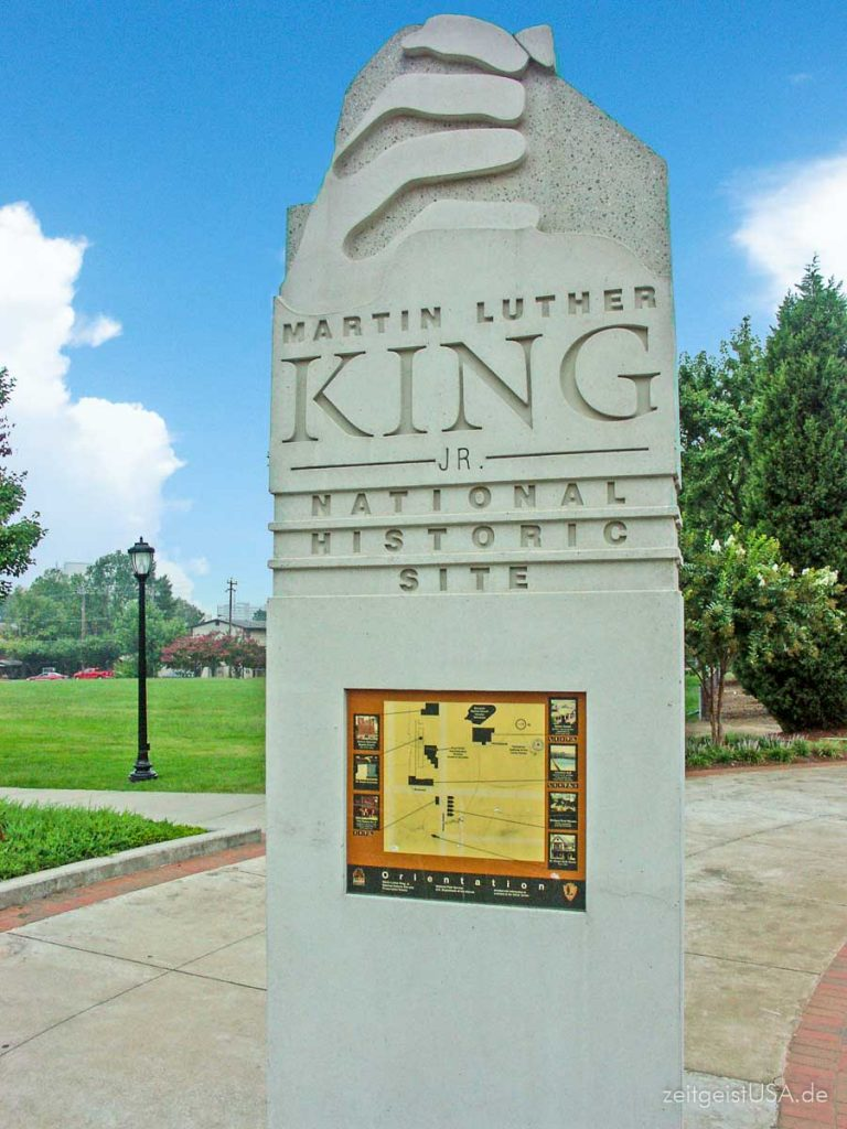 Martin Luther King Jr National Historic Site in Atlanta