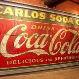 Coca-Cola, weltweit erkanntes Symbol. World of Coca-Cola, Atlanta.
