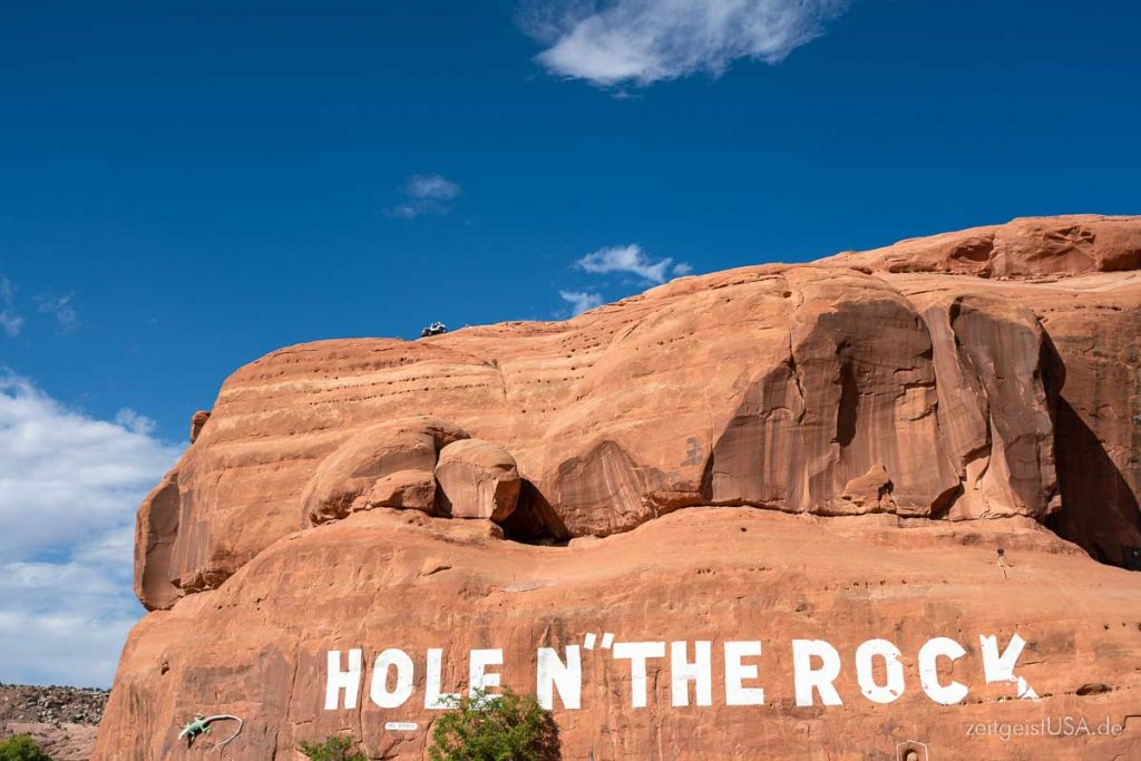 Hole in the Rock, Utah, auf dem Weg ins Monument Valley