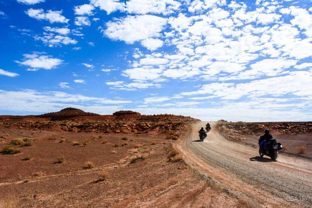 Motorradtouren in Utah, Monument Valley