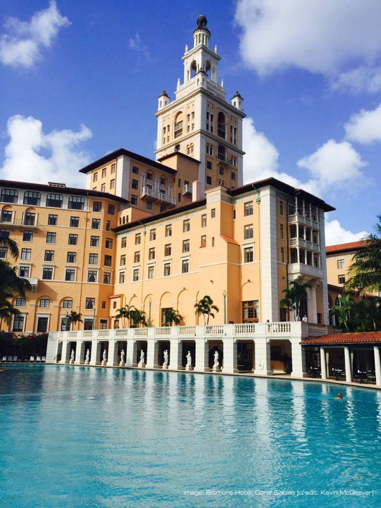 The Biltmore Hotel, Coral Gables (photo by Kevin McGeever)