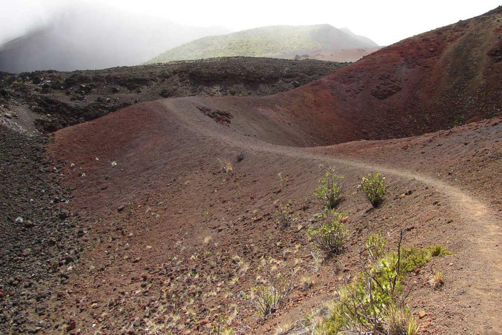 Haleakala Crater, Peles Paint Pot (photo: NPS)