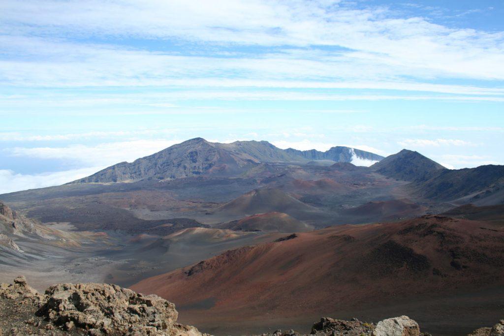 Haleakala Crater gesehen vom Haleakala Visitor Center (photo: NPS)