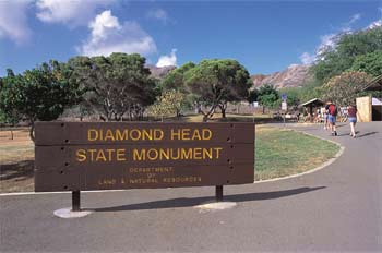 Diamond Head State Monument, Oahu, Hawaii (photo: Hawaii Tourism Japan)