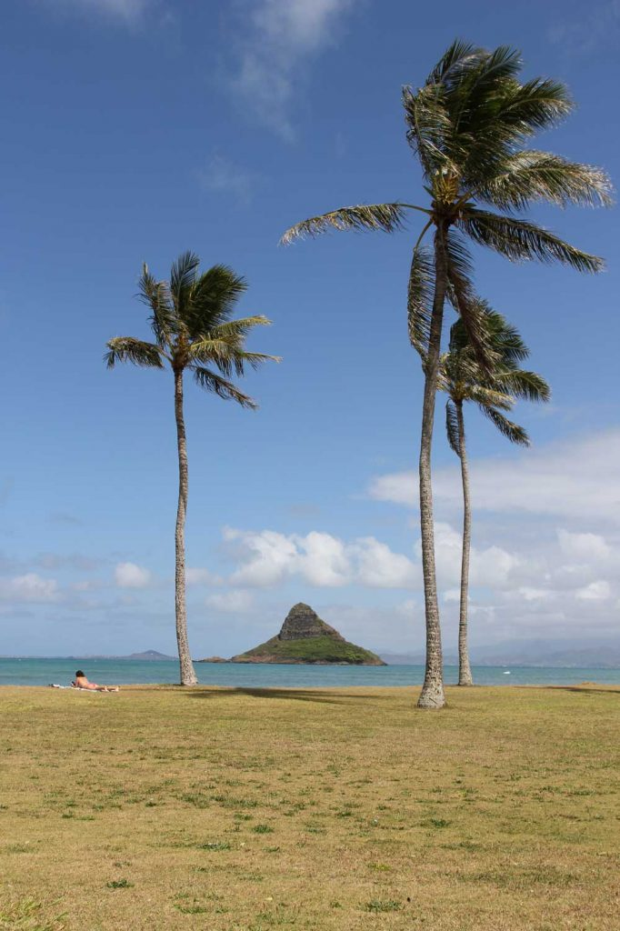 Chinaman's Hat, Oahu (photo: by Tonchino - Own work, CC BY-SA 3.0)