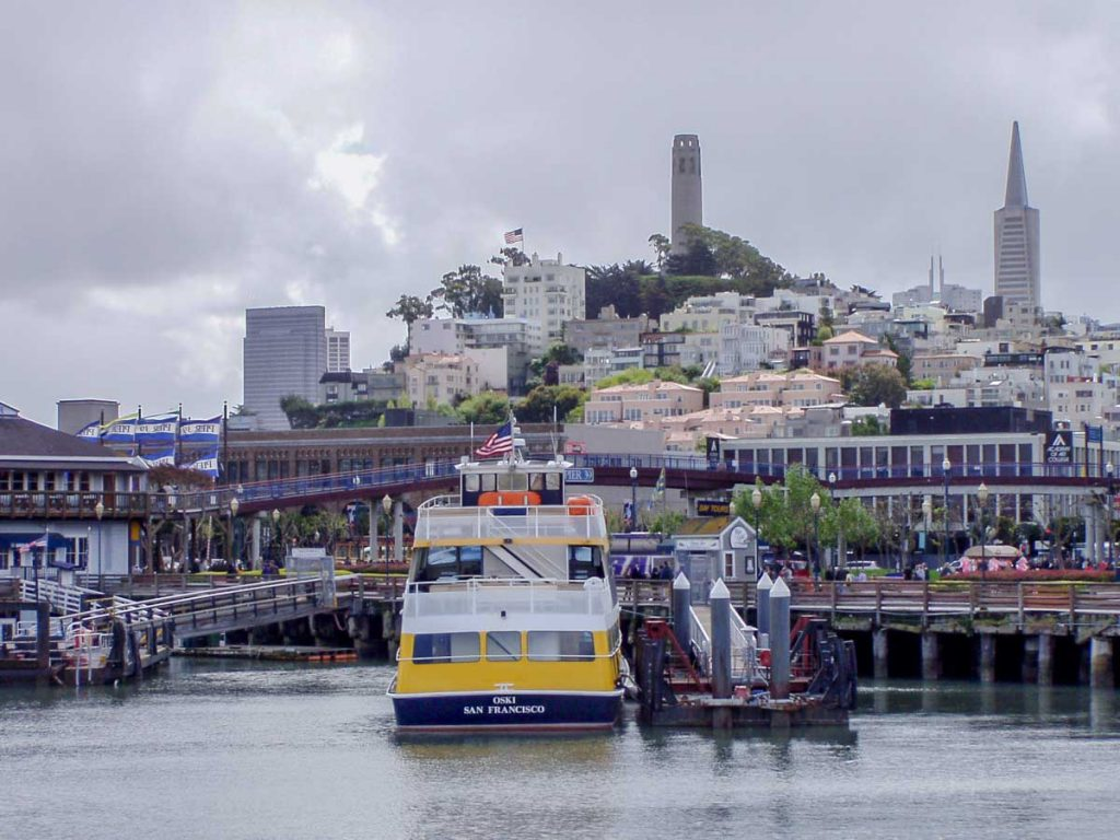 Stadt der sieben Hügel, San Francisco
