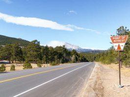 Entlang der US 7 zwischen Lyons und Estes Park, Colorado