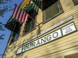 Durango-Silverton Narrow Gauge Railroad, Durango, Colorado