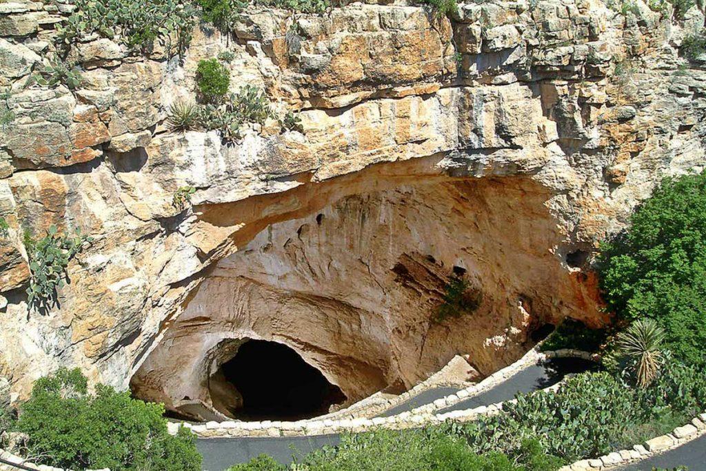 Natural Entrance - Carlsbad Caverns Nationalpark, New Mexico