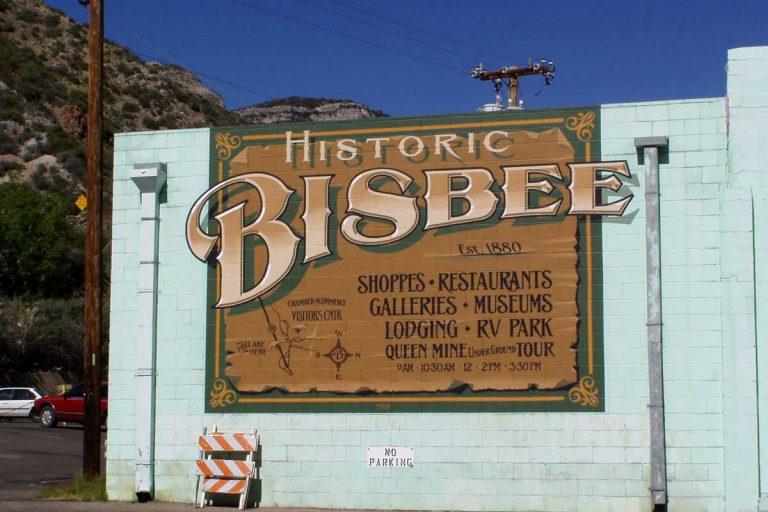 Bisbee, Arizona, eine alte Minenstadt