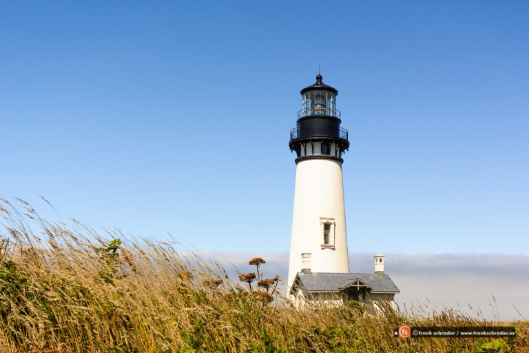 Newport, Oregon und Yaquina Head Leuchtturm