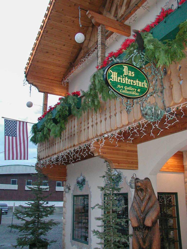 Leavenworth, im Staat Washington, USA