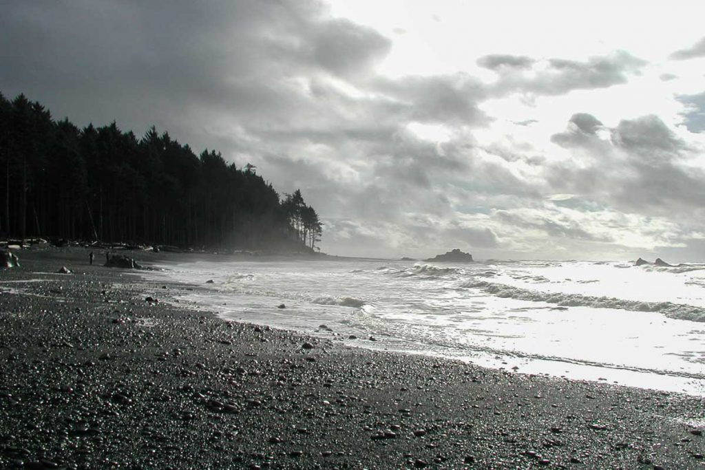 Ruby Beach im Olympic Nationalpark, Washington State, im Nordwesten der USA