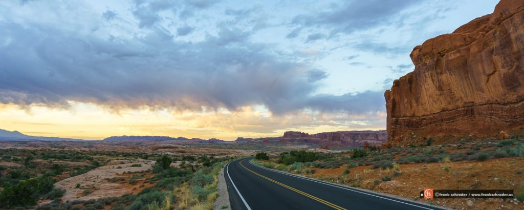 Sonnenaufgang Arches Nationalpark, Utah, USA