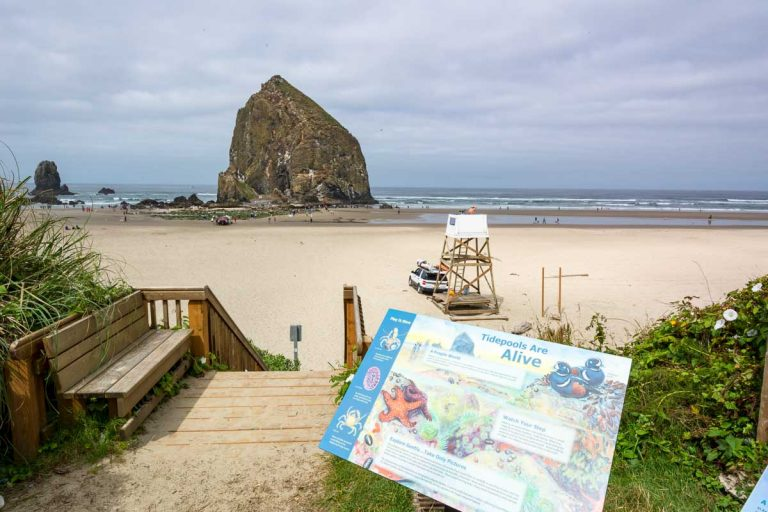 Cannon Beach, Haystack Rock, Ecola State Park