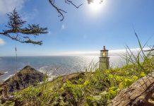 Leuchttürme an Oregon's Küste (hier: Heceta)