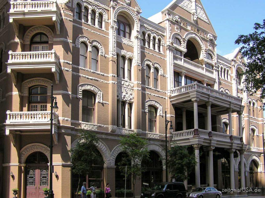 The Driskill Hotel in Austin