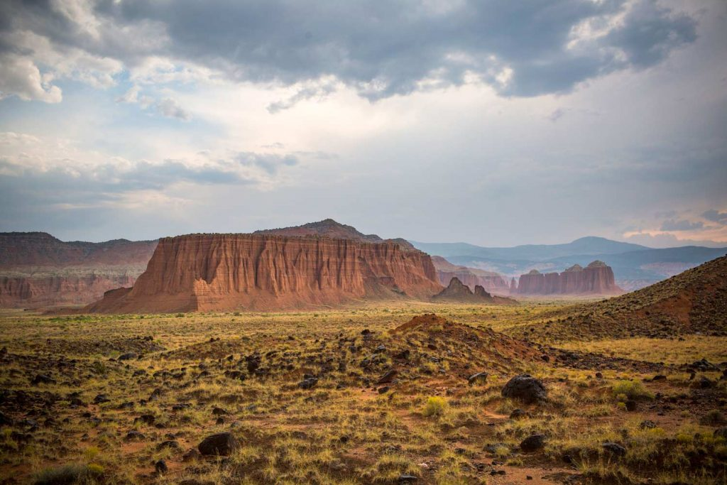Upper Cathedral Valley, Capitol Reef NP (photo: NPS/Travis Lovell)