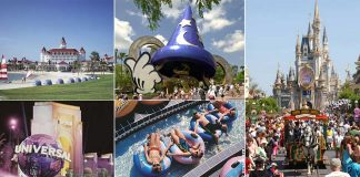 Orlando, Florida: Disney Resort, MGM Studios, Magic Kingdom, Universal, Wet'nWild (photos: Orlando CVB)