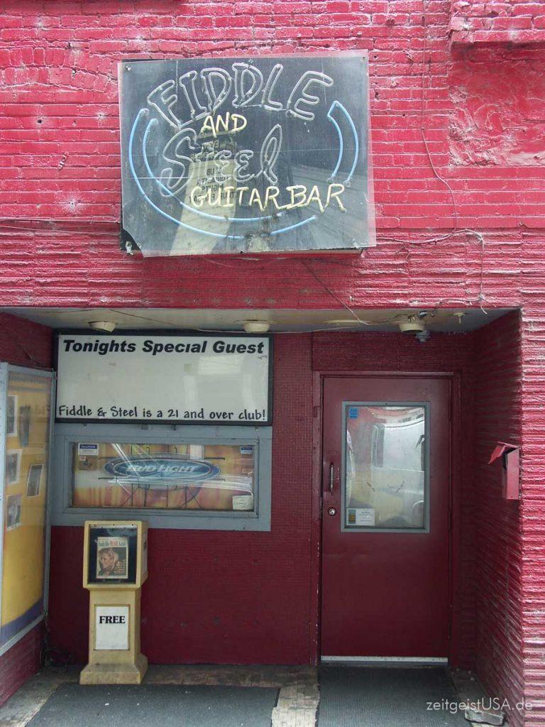 Fiddle & Steel Guitar Bar, Nashville Bar District