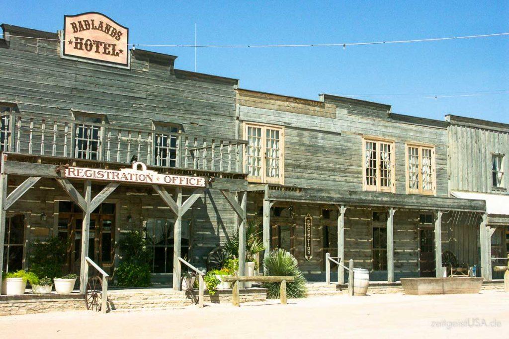 Badlands Hotel, Lajitas, Texas