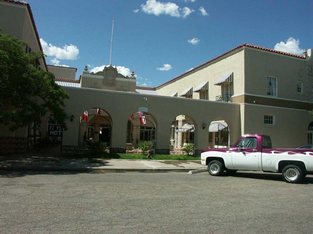 El Paisano Hotel in Marfa, Texas