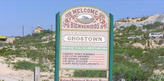 Ghost Town Terlingua, Texas