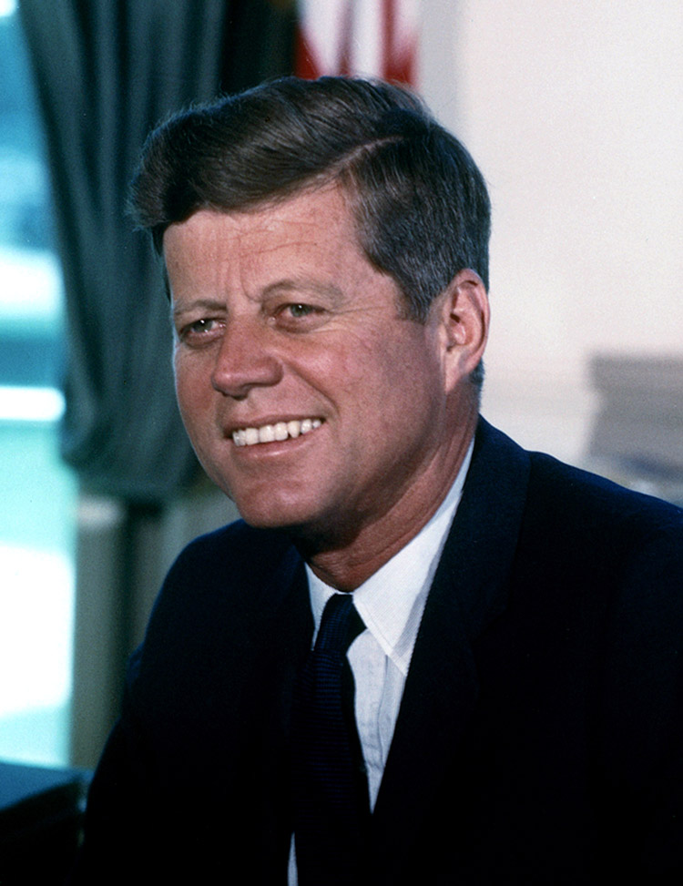 John F. Kennedy, 35. Präsident der USA