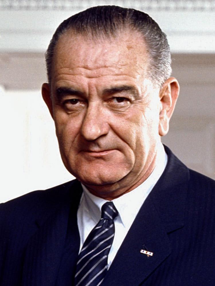 Lyndon Johnson, 36. Präsident der USA